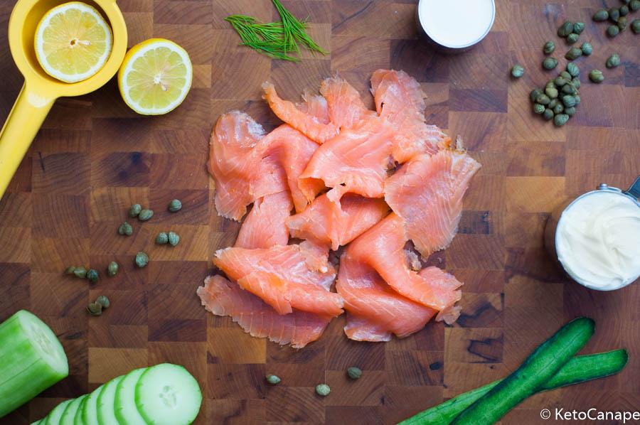 Smoked Salmon Mousse Prep