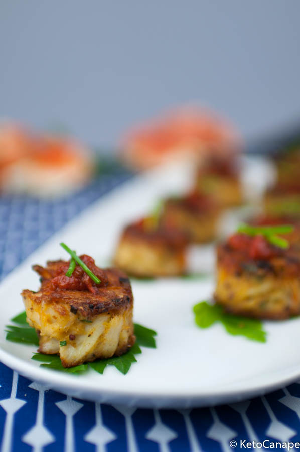 Keto Crab Cakes Featured