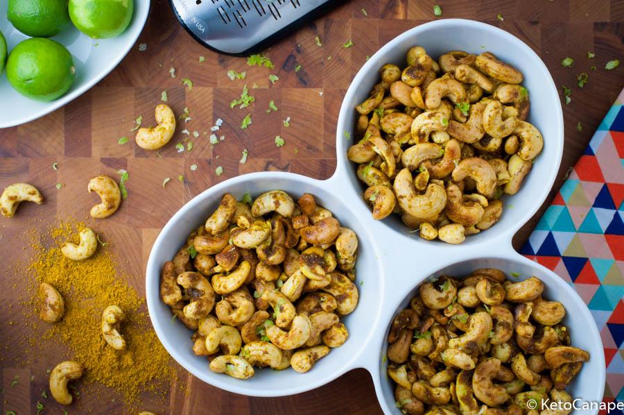 Curry Lime Roasted Cashews 1