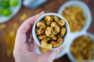 Curry Lime Roasted Cashews