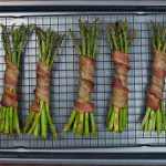 KetoCanape Bacon Wrapped Asparagus