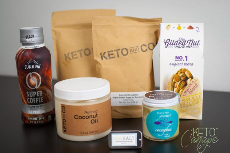 Keto Delivered February 2017 Box Review