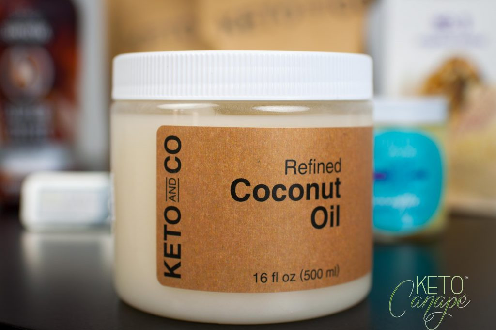 Keto Delivered February 2017 Box Review Coconut Oil